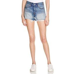 levi's wedgie denim shorts buena vista light